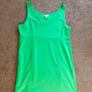 Kelly Green Mini Dress Tank